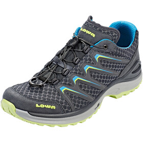 Lowa Maddox Low Shoes Women anthracite/mint
